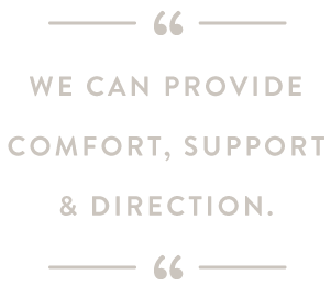 At Tides Counseling, we can provide comfort, support & direction.